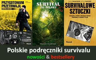 survival podręcznik w Polsce - nowość 2016 - preppersi - bestseller