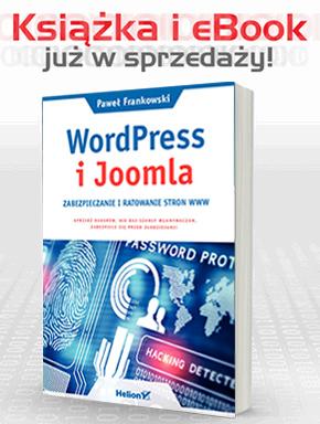 Joomla & Wordpress ratowanie stron zabezpieczanie ebook książka pdf
