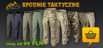 Spodnie taktyczne, wojskowe, szorty - bestsellery helikon - ASG, survival